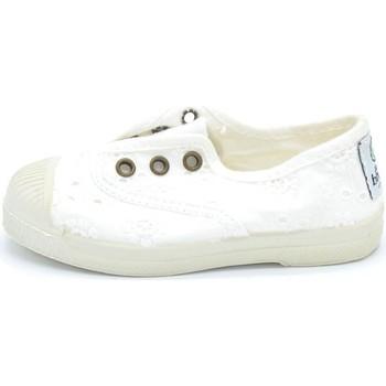 Sapatos Rapaz Sapatilhas Natural World - Slip on  bianco 474-505 BIANCO