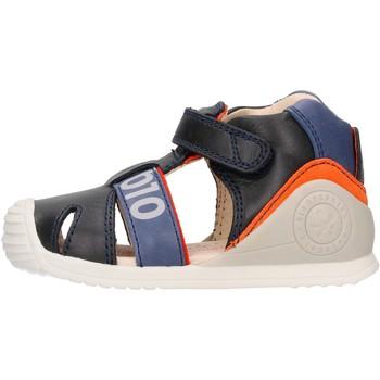 Sapatos Rapaz Sandálias Biomecanics - Gabbietta blu 212139 BLU