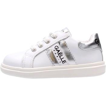 Sapatos Rapaz Sapatilhas GaËlle Paris - Sneaker bianco/arg G-741 BIANCO