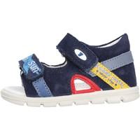 Sapatos Rapaz Sandálias Falcotto - Sandalo blu BAREL-1C67 BLU