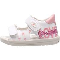 Sapatos Rapaz Sandálias Falcotto - Sandalo bianco DODOLO-1N04 BIANCO