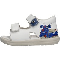 Sapatos Rapaz Sandálias Falcotto - Sandalo bianco BLAVET-0N01 BIANCO