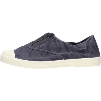 Sapatos Homem Mocassins Natural World - Sneaker blu 3102E-677 BLU