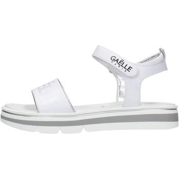 Sapatos Rapariga Sandálias GaËlle Paris - Sandalo bianco G-840 BIANCO