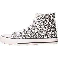 Sapatos Criança Sapatilhas de cano-alto GaËlle Paris - Sneaker bianco G-981 BIANCO