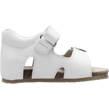 Sapatos Rapaz Sandálias Falcotto - Sandalo bianco BEA-0N01 BIANCO