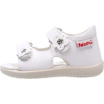 Sapatos Rapaz Sandálias Falcotto - Sandalo bianco BENSO-0N01 BIANCO