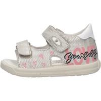 Sapatos Criança Sandálias Falcotto - Sandalo argento DODOLO-1Q23 ARGENTO