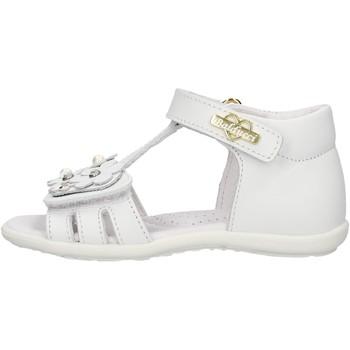 Sapatos Rapariga Sandálias Balducci - Sandalo bianco CITA 4416 BIANCO