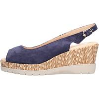 Sapatos Mulher Sapatos aquáticos CallagHan - Sandalo blu 29003 BLU
