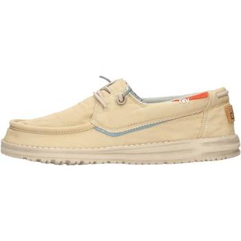 Sapatos Homem Sapatilhas Hey Dude - Sneaker beige WELSH 8340 BEIGE