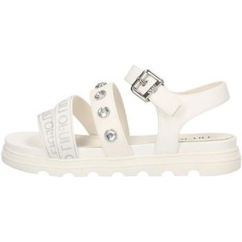Sapatos Rapaz Sandálias Liu Jo - Sandalo bianco DESY 51 BIANCO