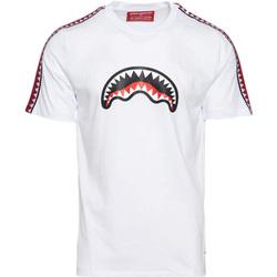 Textil Rapaz T-Shirt mangas curtas Sprayground - T-shirt bianco 20SPY374 BIANCO