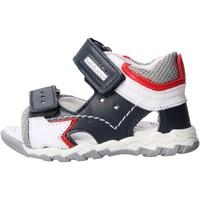 Sapatos Rapaz Sandálias Balducci - Sandalo blu/grigio CSPO4501 BLU-GRIGIO