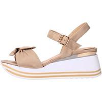 Sapatos Mulher Sandálias Valleverde - Sandalo beige 45340 BEIGE