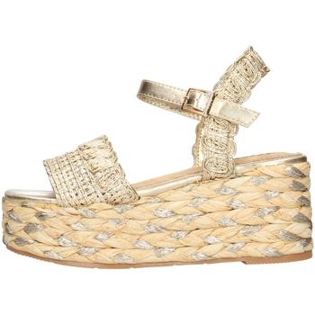 Sapatos Mulher Sandálias Keys - Sandalo oro K-4862 ORO