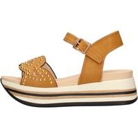 Sapatos Mulher Sandálias Keys - Sandalo beige K-5041 BEIGE