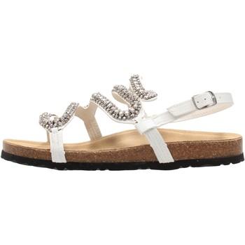 Sapatos Mulher Sandálias Keys - Sandalo bianco K-4874 NERO