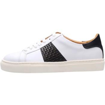 Sapatos Homem Sapatilhas Soldini - Sneaker bianco/blu 22309-3-VF2 BIANCO