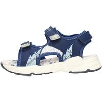 Sapatos Rapaz Sandálias Balducci - Sandalo blu/bco BS2483 BLU