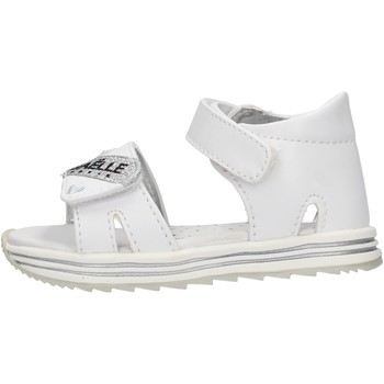 Sapatos Rapaz Sandálias GaËlle Paris - Sandalo bianco G-881 BIANCO