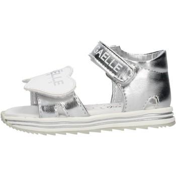 Sapatos Rapaz Sandálias GaËlle Paris - Sandalo argento G-880 ARGENTO