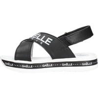 Sapatos Rapaz Sandálias GaËlle Paris - Sandalo nero G-821 NERO