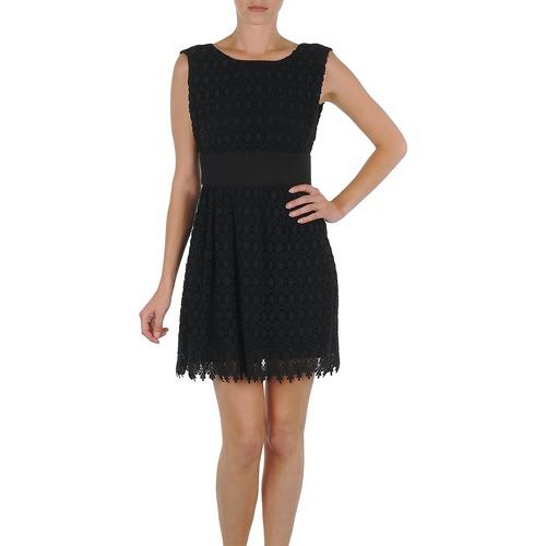 Textil Mulher Vestidos curtos Eleven Paris DEMAR Preto