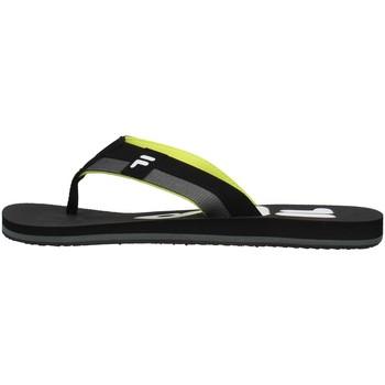 Sapatos Homem Chinelos Fila 1011198 Preto