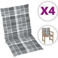 Casa Almofada de cadeira VidaXL Almofadão para cadeira de jardim 100 x 50 x 4 cm Multicolor