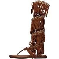 Sapatos Mulher Sandálias Zoe INCAS04 Castanho