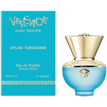 beleza Mulher Eau de parfum  Versace Dylan Turquoise - colônia - 100ml - vaporizador Dylan Turquoise - cologne - 100ml - spray