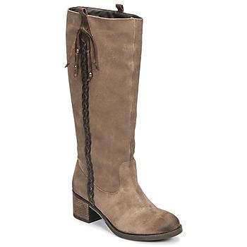 Sapatos Mulher Botas Betty London ELOANE Toupeira
