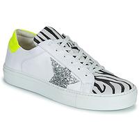 Sapatos Mulher Sapatilhas Betty London PANILLE Branco
