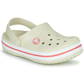 Sapatos Criança Tamancos Crocs CROCBAND CLOG K Bege / Laranja