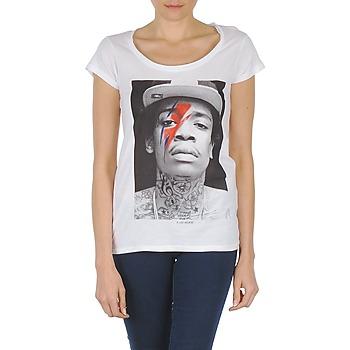 Textil Mulher T-Shirt mangas curtas Eleven Paris KALIFA W Branco