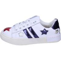 Sapatos Rapariga Sapatilhas Holalà Sneakers BH13 Branco