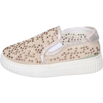 Sapatos Rapariga Slip on Holalà Sneakers BH17 Bege