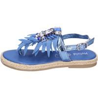 Sapatos Rapariga Sandálias Holalà Sandálias BH18 Azul