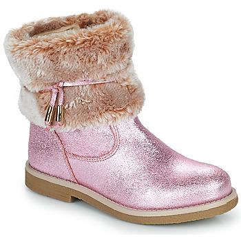Sapatos Rapariga Botas baixas Citrouille et Compagnie PAKRETTE Rosa / Íris