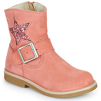 Sapatos Rapariga Botas baixas Citrouille et Compagnie POUDRE Rosa