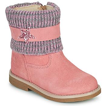 Sapatos Rapariga Botas baixas Citrouille et Compagnie PASTEK Rosa