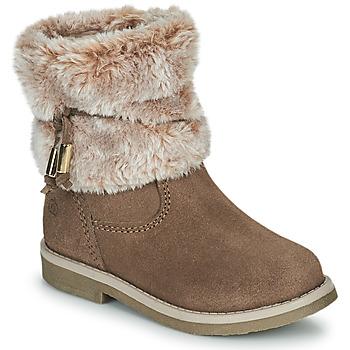 Sapatos Rapariga Botas baixas Citrouille et Compagnie PAKRETTE Camel