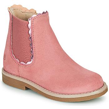 Sapatos Rapariga Botas baixas Citrouille et Compagnie PRAIRIE Rosa