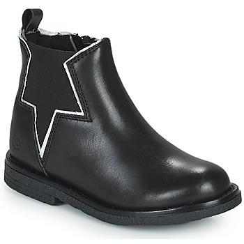 Sapatos Rapariga Botas baixas Citrouille et Compagnie PRATO Preto