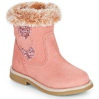 Sapatos Rapariga Botas Citrouille et Compagnie PARAVA Rosa
