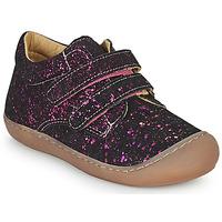 Sapatos Rapariga Sapatilhas de cano-alto Citrouille et Compagnie PIOTE Rosa fúchia