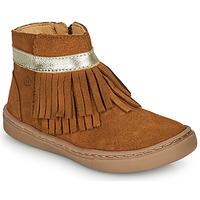 Sapatos Rapariga Botas baixas Citrouille et Compagnie PIDOUTE Camel