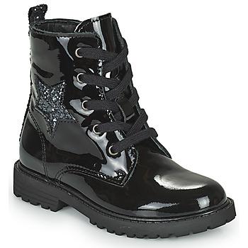 Sapatos Rapariga Botas baixas Citrouille et Compagnie PICOTI Preto