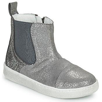 Sapatos Rapariga Botas baixas Citrouille et Compagnie PIMANE Cinza